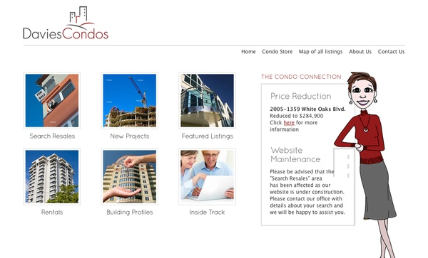 Davies Real Estate Burlington Website